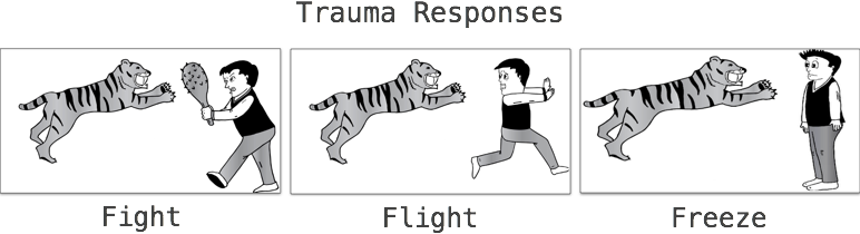 Trauma Responses - Fight/Flight/Freeze